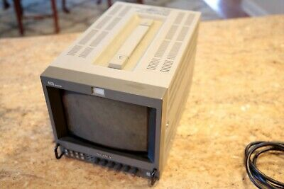 Sony PVM-8045Q 8″ Trinitron Color Professional Video Monitor - w/Monitor Case