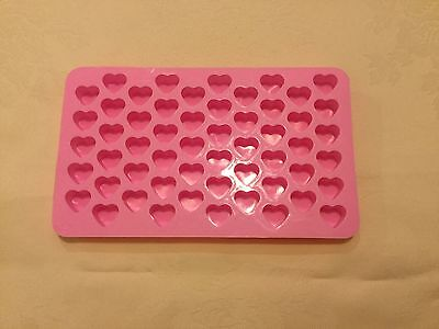 55 Heart Silicone Mould for making Mini Wax Melts buy 3 get a 4th free!
