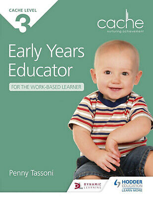 CACHE Level 3 Early Years Educator for the Work-Based Learner (PDF book on USB)