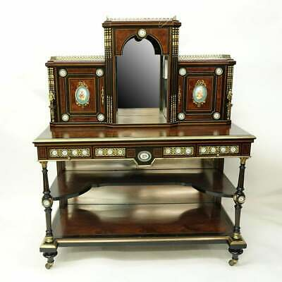 Amazing Quality 19th Century Superb English Victorian Cabinet