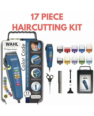 NEW Wahl Color Code Haircutting Kit 17 piece Easy-to-Use 79424-200 *SHIPS TODAY*