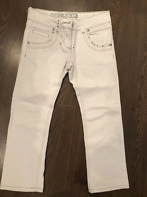 Girls Ivory Denim Jeans New Look Generation Age 12