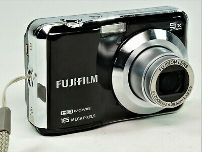 Fujifilm FinePix A Series AX650 16.0MP Digital Camera - Black In Box Etc.