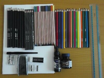 Job Lot Colour Drawing Art Pencils (New).