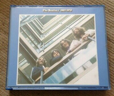 1993 THE BEATLES Double CD 1967-1970 Blue Album Capitol Remastered Discs are NM!