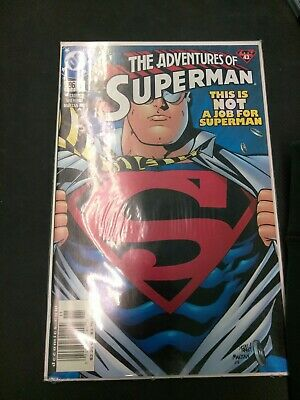 The Adventures Of Superman #596 Rare 9/11 Recalled.