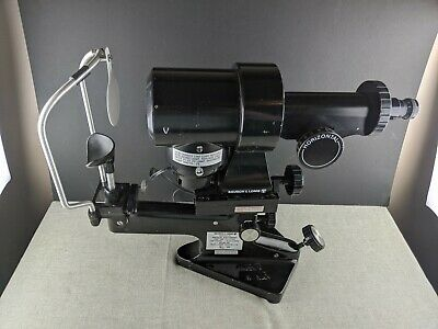 Bausch & Lomb Keratometer 71-21-35 Opthalmometer Opthalmology