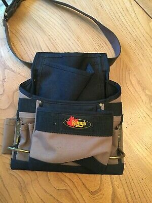 Kuny's Builders tool/nail pouch and belt