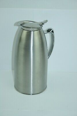 Service Ideas Foam Lined Stainless Steel Water Pitcher 2L_US STOCK