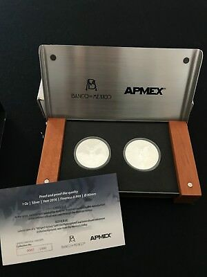 2016 Mexico Silver Libertad 2-Coin Proof/Reverse Proof Set