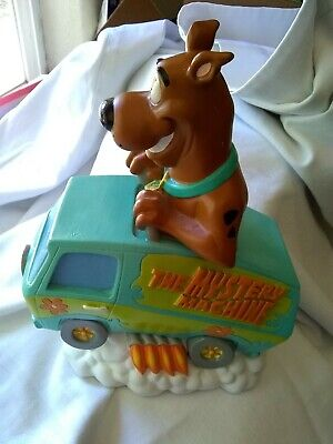 Scooby Doo Driving Mystery Machine Piggy Bank 2000