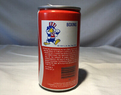 1981 Coca Cola Olympics can from the USA Boxing