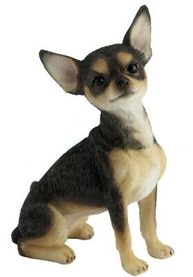 3.5 Inch Chihuahua Statue Dog Decor Home Figure Pet Figurine
