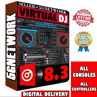 Virtual Dj Pro Infinity 8.3 ✅ All Controllers ✅ All Consoles ✅ Multilanguage