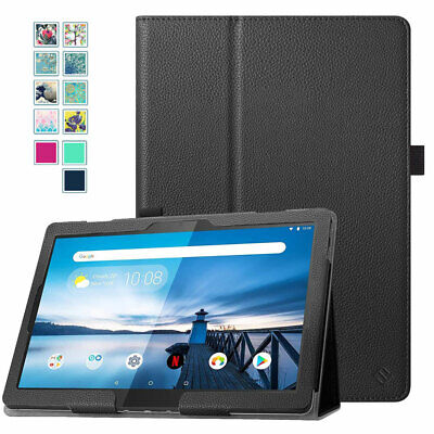 Folio Case For Lenovo Tab M10 HD TB-X505F/TB-X505L 10.1'' PU Leather Stand Cover