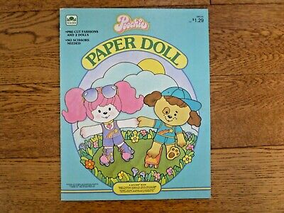 Poochie Paper Doll Book