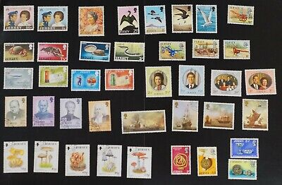 Jersey lot of VF Used stamps mostly all in complete sets two photos (k486)