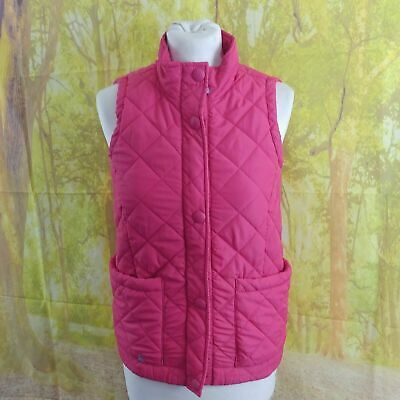 Joules Tom Joule Circus Pink Padded Gilet, Age 11