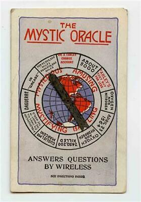 The Mystic Oracle Answers Question by Wireless 1923 Farley's Houston Texas