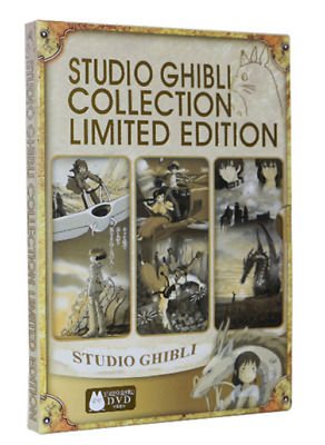STUDIO GHIBLI COLLECTION LIMITED EDITION (Free Fast Shipping & Factory Sealed)