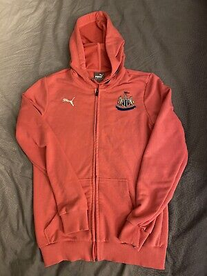 Nufc Girls Hoody Newcastle United Size 10 - (10-13 Years Old) Pink Worn Twice