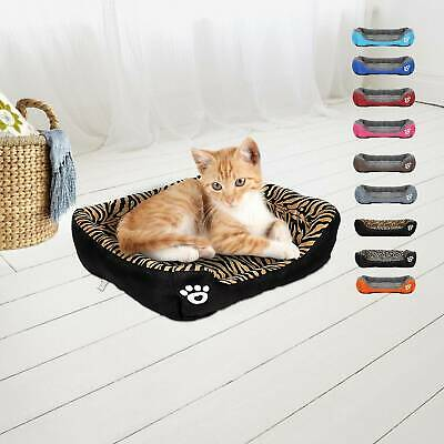 Pet Dog Cat Bed Puppy Cushion House Warm Kennel Mat Blanket Washable Kitten New