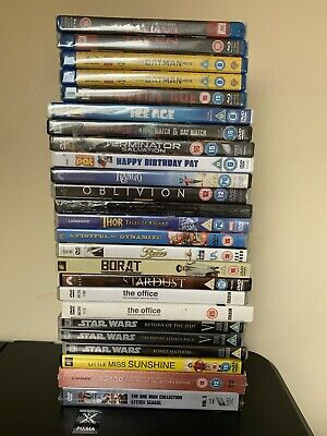 25 X Blu Ray And DVD  Bundle -  Some New & Sealed