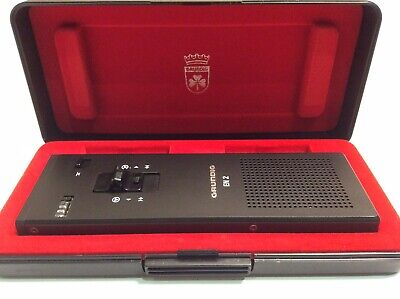 Grundig En 2 Mil 462 Dictaphone Used In Mint Condition Fully Tested German Made
