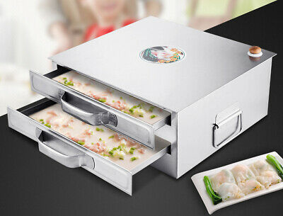 Best Selling DaChu Stainless Steel 2 Layer Rice Noodle Roll Steamer 800268