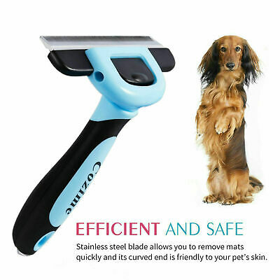 Dog Brush for Shedding-Best Cat Grooming Comb Tools Hair Pet Trimmer Clipper US