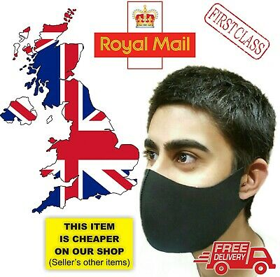 Face Mask Washable Mouth Protection Breathable Reusable Masks cotton ⭐WHOLESALE⭐