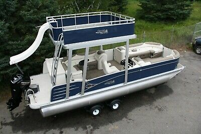 Sold out -Stay safe-New-2585 Funship cruise pontoon boat