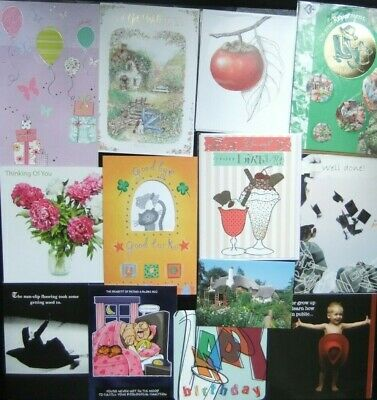 79 Greeting Cards Quality Occasions Birthdays Etc Joblot Wholesale