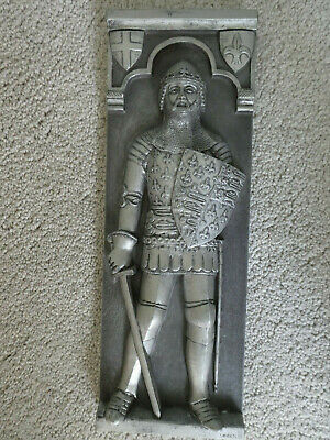 3D Handmade in England Marcus Designs wall hanging/plaque of English Knight