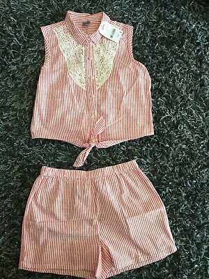 Girls 2 Piece Summer Outfit BNWT Age 9yrs From NEXT
