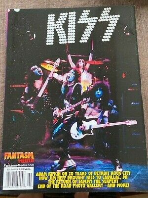 Kiss Poster Book Ace Frehley Peter Criss 6 Posters