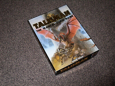 TALISMAN : THE MAGICAL QUEST GAME 2nd EDITION - 1985 GAMES WORKSHOP (FREE UK P&P