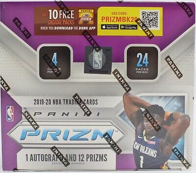 🔥2019-2020 Panini Prizm ONE 1 Retail PACK from Sealed Box Zion Ja Rookie SP?🔥