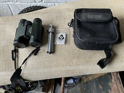 Hawke nature trek Waterproof binoculars, In Case With Tripod Etc