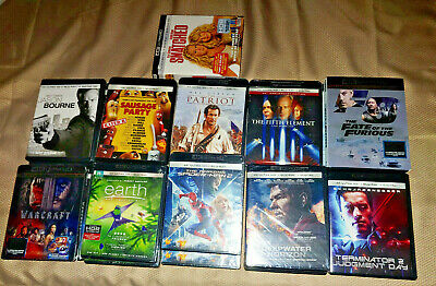 CHEAP MOVIE LOT SALE - YOU PICK 4K UHD or BLU RAY or 4K VUDU CODE -Combined Ship