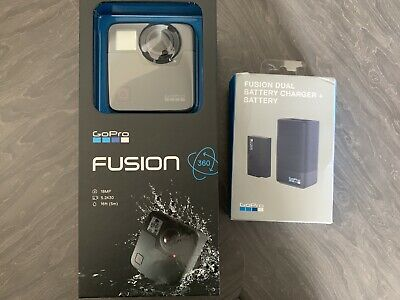 GoPro Fusion 360 Degree Action Camera - Black with Battery Charger