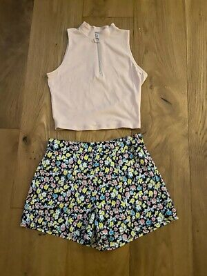 Gorgeous Top and Shorts Set From New Look For Girl Age 10-11 Years