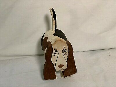 Old Hand crafted Hound Dog