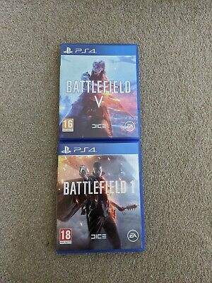 Battlefield V And 1 - PS4 - Used