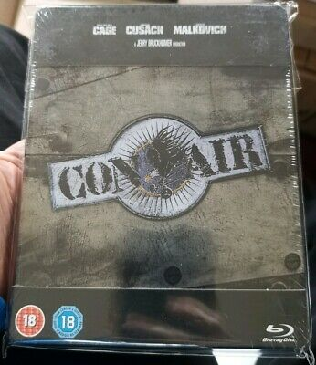 Con Air Zavvi UK Blu-Ray Steelbook NEW and sealed ships worldwide