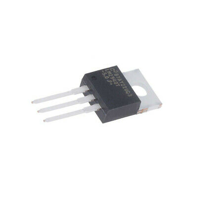LM2940T-5.0/NOPB IC: voltage regulator LDO,fixed 5V 1A TO220-3 THT Uoper: 7-26V