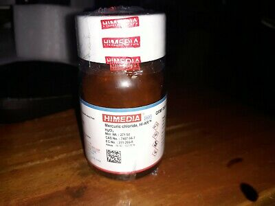 HgCl2 Mercuric Chloride 5 Gram Lots Synthesis/Catalyst Lab Grade100% Pure