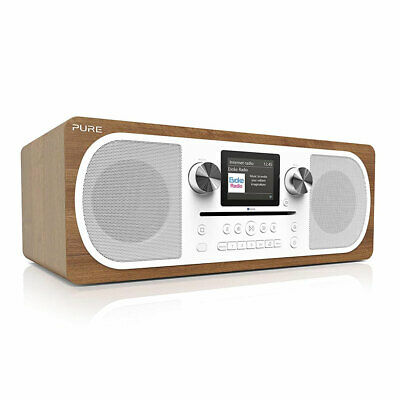 Pure Evoke C-F6 Stereo All-in-One Music System Radio Spotify Bluetooth Speaker