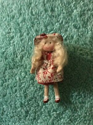 "1 3/4"" Porcelain Doll by Anderson Miniatures  - 1/12 scale"