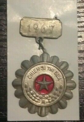 1967 Viet Cong Warrior Medal (A warrior to be emulated)